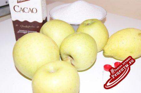 Шоколадно-яблочночное повидло