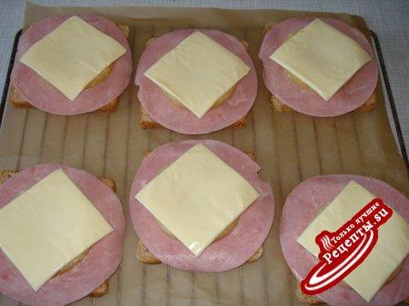 "Бутерброд ""Hawai"""