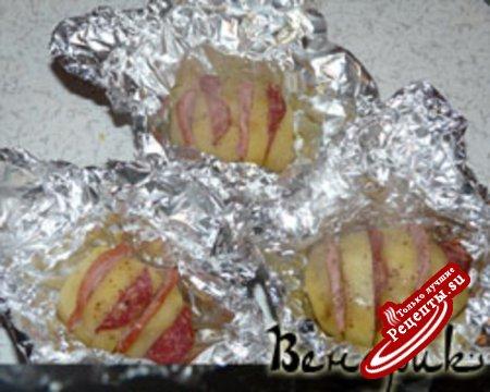 картошка - гармошка