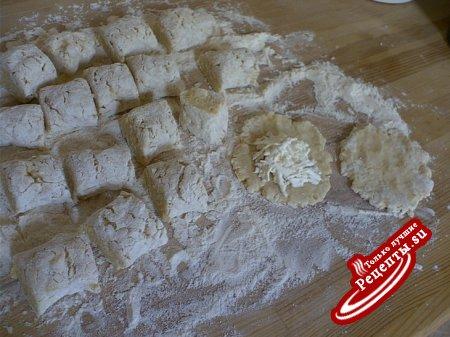 Пирожки картофельные с брынзой