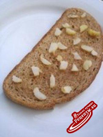 Горячий бутерброд с мацареллой