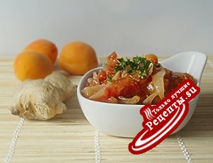 Абрикосово-томатный чатни