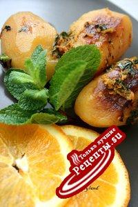 Апельсиново-мятный картофель