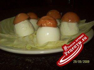 """""""Боровички"""" из яиц"""
