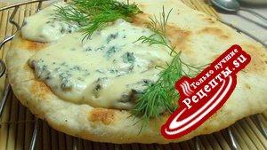 Быстрая лепёшка с сыром ДорБлю к завтраку!