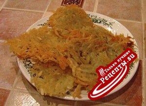 быстрожаренная картошка