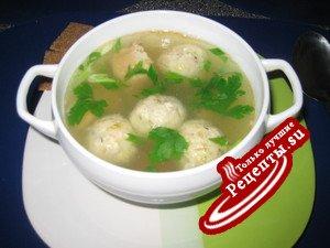 Домашний рыбный суп
