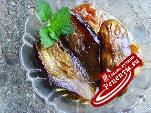 Экзотика из баклажан к чаю (Арабско сладко от патладжан)