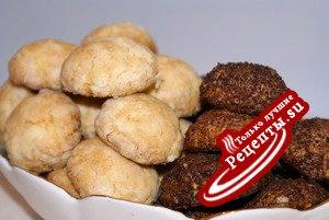 Фруктово-кокосовое рассыпчатое печенье