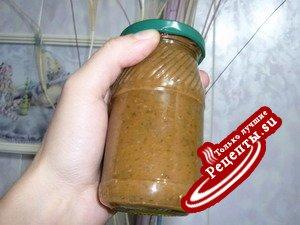 Густой острый айвово-яблочный соус