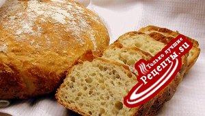 Хлеб на пшённой каше.
