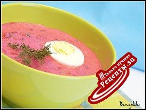 Холодник (холодный летний суп)