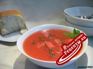 """Холодный арбузный суп """"Crazy"""""""