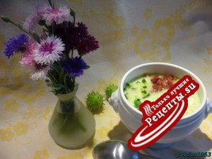 Холодный дынно-огуречный суп