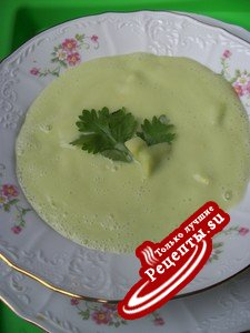 Холодный суп разгрузочный !!!