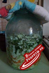 капустный салатик