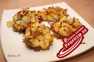 Картофель «Crash Hot Potatoes», сваренный и запеченный