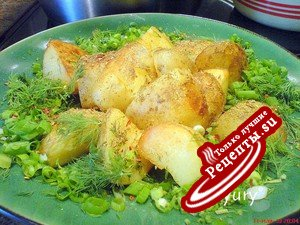 Картофель по-праздничному на каждый день