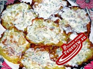 Картофельные оладушки(вариант)