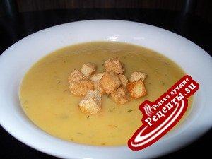 Картофельный суп-пюре (вариант)