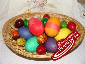 Крашенки (пасхальные яйца)