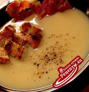 крем-суп из хамона