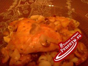 Курица в томатно - вином соусе