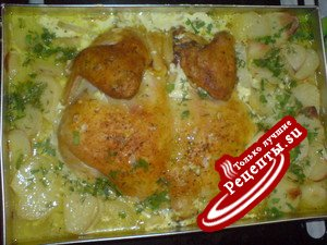 Куринный картофан