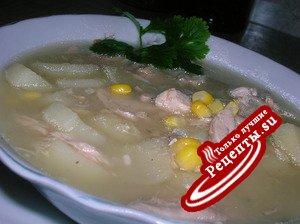 Куриный суп по-римски