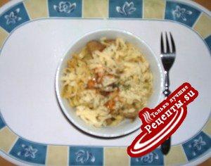 ЛАПША в овощно-мясном сопровождении