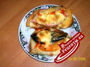 Любимые горячие бутерброды