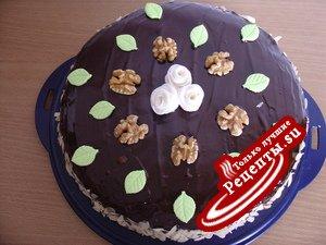"""Maronentorte или торт """"Каштанка""""."""