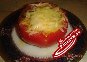 Мидии в помидорах