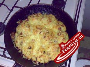 Мясные шарики в картофеле