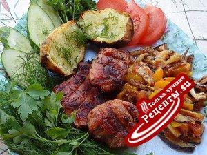Мясо на решётке(вариант)