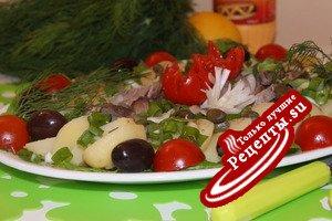 Наш любимый картофельный салат