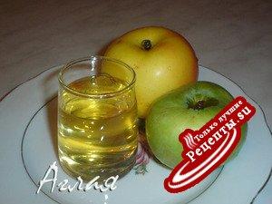 Настойка на яблоках на водке рецепт
