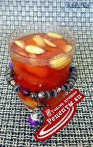 Нектариновое варенье с корицей и миндалем