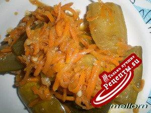 Огурчики с морковью по-корейски