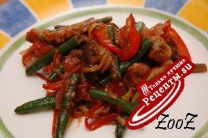 Овощи жареные по-корейски