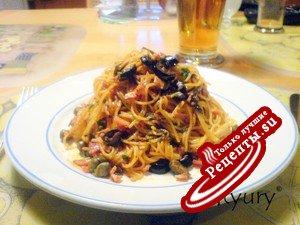 Паста (спагетти, спагеттини) без варки
