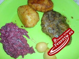 Печень в жировой сетке (Fegatelli di maiale)
