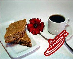 Печенье кантуччи с кофе.