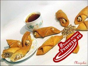 Печенье - трубочки с сюрпризом