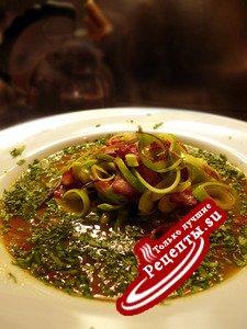 ПЕРВОЕ 1: и второе - Перловый суп с закладкой