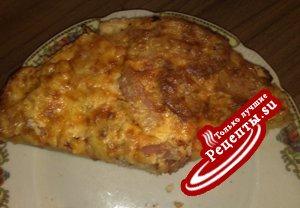 Пицца-добей всё, что в холодильнике!