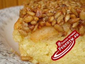 Пирог яблочный . Попробуйте и мой!