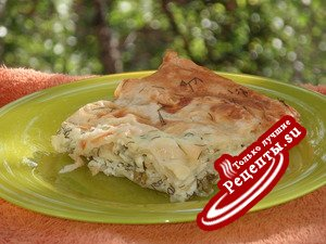 Пирожок вкуснющий( по мотивам болгарской банницы)