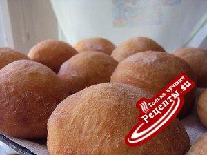 Пончики с ванильным кремом