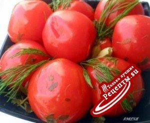 Пряные маринованные помидоры